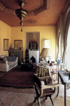 Inside Yves Saint Laurent and Pierre Berge's home in Marrakech