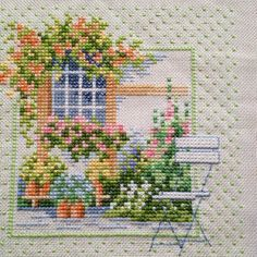 This Pin was discovered by sem Cross Stitch House, Cross Stitch Boards, Cross Stitch Kits, Cross Stitch Designs, Cross Stitch Patterns, Cross Stitching, Cross Stitch Embroidery, Stitch Crochet, Cross Stitch Landscape