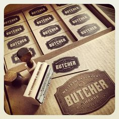 INK361 - Photo - Stoked for butcher shop @WesternButchers opening this summer in the Highlands! Design by @themadeshop