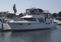 Carver 42 Aft Cabin Motor Yacht Deck & Bridge Tour Video by @ South Moun...