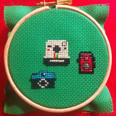 Cameras Tiny Cross Stitch, Cross Stitch Patterns, Poker Table, Cross Stitching, Cameras, Stitches, Hoop, Crafts, Sayings