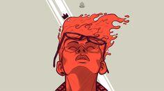 The Reddish by Rafael Diaz