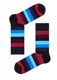 Happy Socks® - Colorful Design Socks For Men, Women & Kids. Buy Colorful Socks In Our Official Store! Patterned Socks, Striped Socks, Bold Stripes, Stripes Design, Unisex, Unique Socks, Dress Socks, Men's Socks, Kids Socks