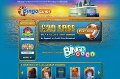 That's right, Bingo Line will give new players a £20 No Deposit Bonus to try out their fantastic bingo and slots games!