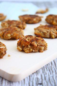 Banaan koekjes met kokos en amandel // Francesca Kookt
