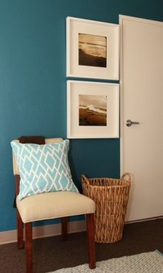 Paint color: Sherwin Williams Tempo Teal