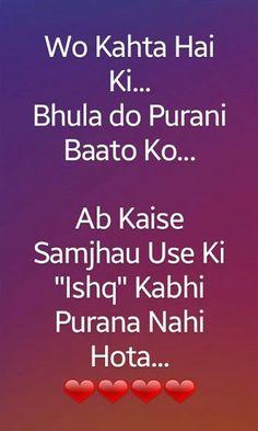 WhatsApp hindi status love Secret Love Quotes, First Love Quotes, Love Quotes Poetry, Love Quotes In Hindi, Crazy Girl Quotes, True Love Quotes, Hatred Quotes, Shyari Quotes, Mixed Feelings Quotes