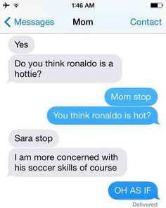 This mom that takes her football seriously... | 29 Parents Who Are Clearly Way Better At Texting Than Their Kids