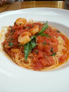 Scrumptious pasta from Il Fornaio