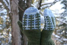 Ravelry: Frost Farm Hat & Mittens pattern by talitha kuomi