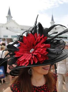 Kentucky Derby 2016 Derby Attire, Derby Outfits, Kentucky Derby Fashion, Kentucky Derby Hats, Turbans, Derby Hats For Sale, Derby Day, Fancy Hats, Church Hats