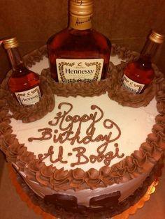 15 Best hennessy cake images | Hennesy cake, Hennessy bottle, Liquor ...