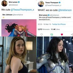 Thompson and Larson make interesting revelations