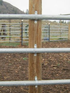 Continuous Fence for Farm & Ranch, from CF Fence Rustic Fence, Farm Fence, Fence Gate, Welded Wire Fence, Metal Fence, Round Pens For Horses, Horse Farm Layout, Cattle Gate, Ranch Fencing