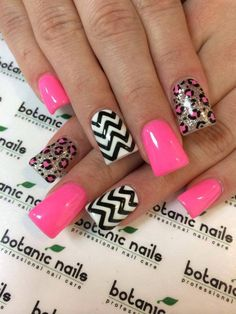 Trendy nail art idea for summer 2015