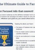 The Ultimate Guide to Facebook Custom Audiences (FREE)