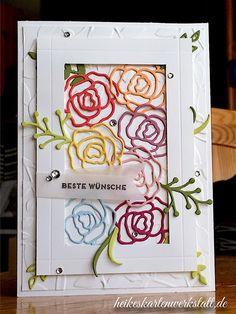Stempelnd durchs Jahr - Hauptsache bunt - Heikes KartenwerkstattHeikes Kartenwerkstatt