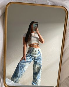 Indie Outfits, Teen Fashion Outfits, Retro Outfits, Cute Casual Outfits, Stylish Outfits, Girl Outfits, Jean Outfits, Tomboy Fashion, Streetwear Fashion