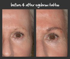 How does good eyebrows affect your face ? Permanent Eyebrow Tattoo