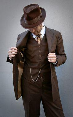 Gentleman by Leru Swing, via Flickr
