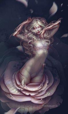 My Digital Paintings by Jennifer Healy, via Behance