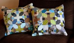 new pillows by { House } of A La Mode, via Flickr