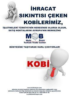 Multi-Buyer tarafından işletilmekte olan Turkish Trade Center'in temel amacı, «kazan-kazan» formülü ile, ihracat sıkıntısı içinde olan Türk KOBİ'lerini Almanya gibi alt yapısı sağlam bir ülke üzerinden ihracata açmak ve:RİSK ALMADAN DAHA ÇOK KAZANDIRMAK! https://lnkd.in/dj-7SVG