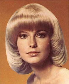 Vintage Hairstyles With Bangs - - - Vintage Hairstyles With 1970s Hairstyles, Everyday Hairstyles, Vintage Hairstyles, Hairstyles With Bangs, Wedding Hairstyles, Mushroom Haircut, Pageboy Haircut, 1960s Hair, Estilo Pin Up