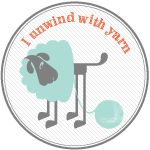 """93% of makers say crafting helps manage stress. Learn about the health benefits of crafting and get the """"I unwind with yarn"""" badge for your blog!"""