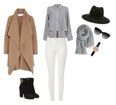 """""""Untitled #1"""" by georgia-marcellus on Polyvore featuring Harris Wharf London, River Island, Salvatore Ferragamo, Calypso St. Barth, Forever 21, Elizabeth and James and Barbour"""