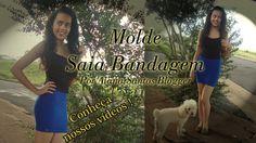 Molde saia bandage por Alana Santos Blogger