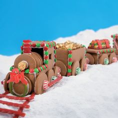 Gingerbread Train & lots of other Christmas cookie ideas!