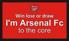 Very true, I'm not a bandwagon fan. I'm Arsenal til I Die. When we win it's a great day, when we lose I go back to bed. Arsenal Players, Arsenal Football, Arsenal Fc, Arsenal Tattoo, Win Lose Or Draw, Dennis Bergkamp, Match Of The Day, Cardio Machines, Soccer Memes
