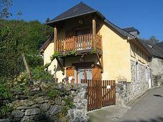 Hautes-Pyrénées, Chalet de vacances avec 2 chambres pour 6 personnes. Réservez la location 1150476 avec Abritel. Charmante grange restaurée proche Argelès-Lourdes au coeur des Hautes-Pyrénées