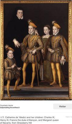 """Su familia política...Madre de reyes...su historia es realmente fascinante!!....La reina dilató 10 años en poder tener hijos. El más pequeño a la izquierda a quién llamaban """"el renacuajo"""" o """"sapito""""  fue el último de los hijos pretendientes de la reina Isabel de Inglaterra...así cómo anteriormente sus otros hermanos...a pesar de ser homosexual!"""