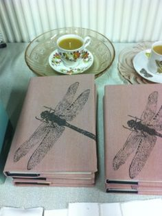 Frohstoff dragonfly notebook