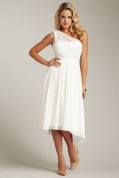 Jessica Simpson  One Shoulder Gathered Evening Dress  $94.00 $188.00  50% off