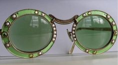1960's vintage Christian Dior Mod sunglasses. @designerwallace