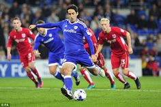 Peter Whittingham scored a first half penalty to put Cardiff in front against Bristol City