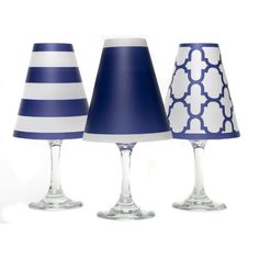 The Grommet team discovers wine glass lamp shades from di Potter. These decorative lamp shades open up a new way to decorate for entertaining. They take your existing wine glasses, and convert them to beautiful votives. Battery Operated Tea Lights, 6 Pack, Rustic Lamps, Wine Collection, Gifts For Wine Lovers, Lamp Shades, Light Shades, Chandelier Shades, 50 Shades