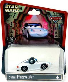 Disney Cars Star Wars Sally As Princess Leia Disney Mattel 1:55 Scale Limited Edition Disney http://www.amazon.com/dp/B00DXOTBP0/ref=cm_sw_r_pi_dp_RAKDub1ECGCCW