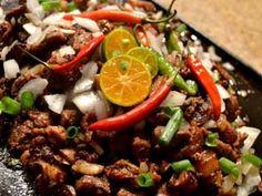 Pork Sisig Recipe http://www.panlasangpinoymeatrecipes.com/sisig.htm #PorkSisig