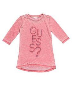 Mädchen Shirt Dreiviertelarm