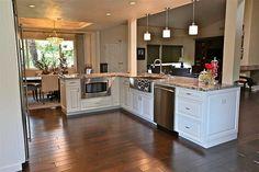 stainless kitchen with white cabinets | Kitchen Renovation Photo Gallery | Phoenix AZ Kitchen Remodel ...