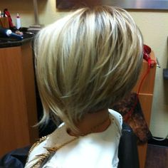 Cute Cut! Nice Stacked Bob Haircut
