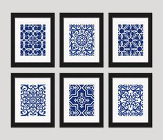 Navy Blue Art Blue White Wall Art Home Decor Set by inkandnectar -- add to black and white photo wall for color? Navy Blue Art Blue White Wall Art Home Decor Set by inkandnectar -- add to black and white photo wall for color? Black And White Photo Wall, White Wall Art, Diy Wall Art, White Walls, Wall Decor, Navy Blue Wall Art, Blue Artwork, Black White, Grey Art