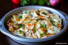 Potato Apple Gruyere Tart- it's so easy but it's so yum. #potatorecipe #applerecipe #healthyrecipe #deliciousrecipe