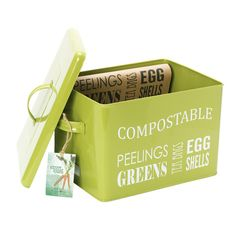 I want this compost bin for the kitchen counter
