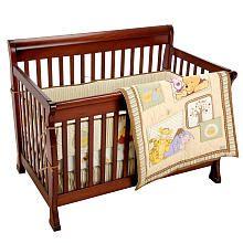 Disney Dreams of Hunny 4-Piece Crib Bedding Set- Winnie the Pooh is classic!