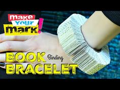 How to: Book Bracelet DIY - YouTube